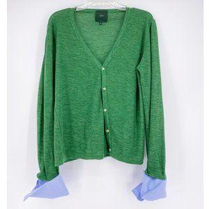 Jejia   Soft Knit Green Cardigan~40